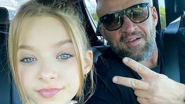 12-letnia córka Tomasza Oświęciński w makijażu. Fanki: Chyba za młoda