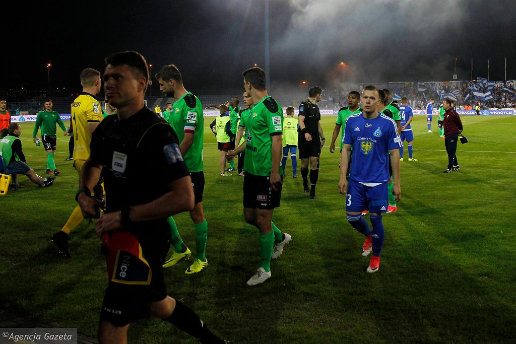 Ruch Chorzów pożegnał Ekstraklasę meczem z Górnikiem Łęczna (2:2)