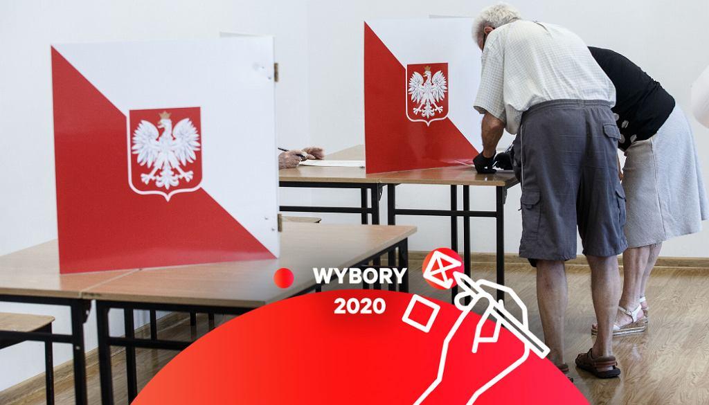 ,Glosowanie w obwodowych komisjach wyborczych
