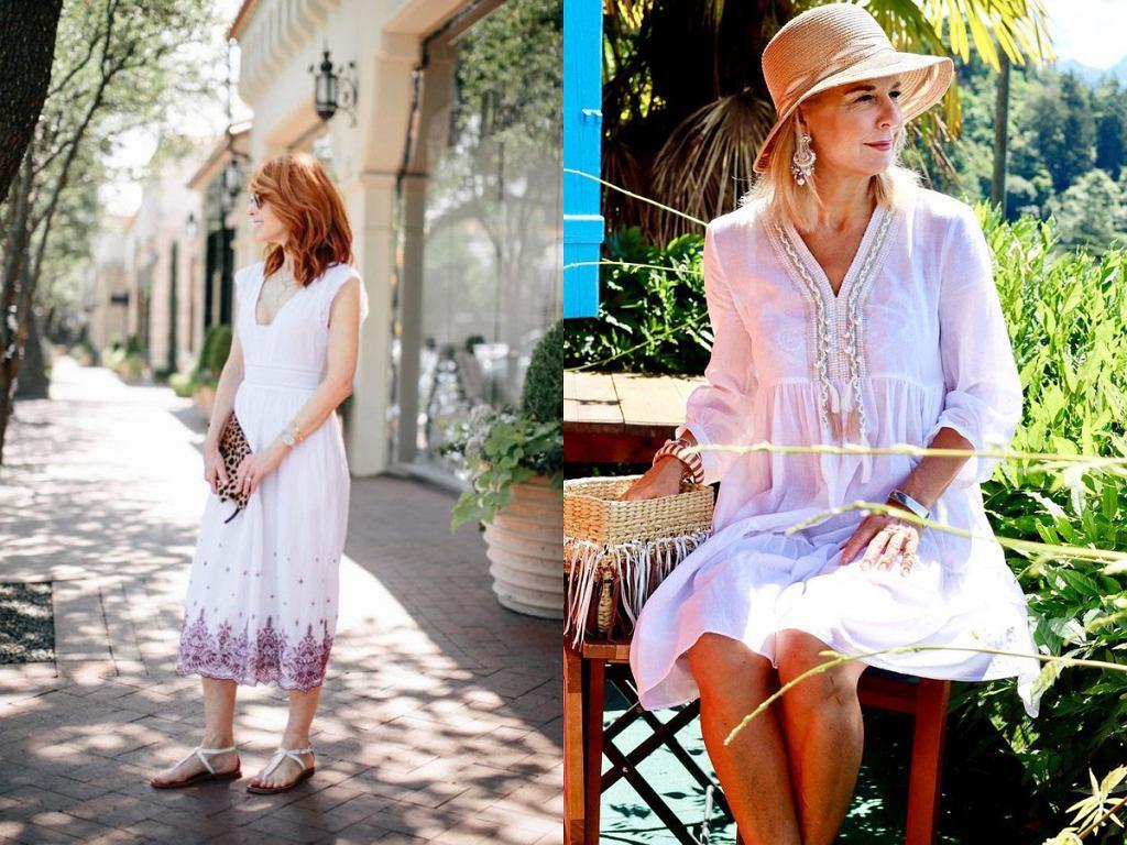 Białe sukienki na lato 2021