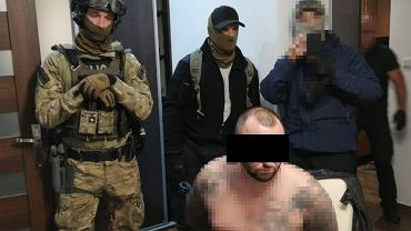 zatrzymanie jednego z członków gangu założonego przez kiboli Ruchu