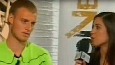 Wojciech Pawłowski podczas słynnego wywiadu