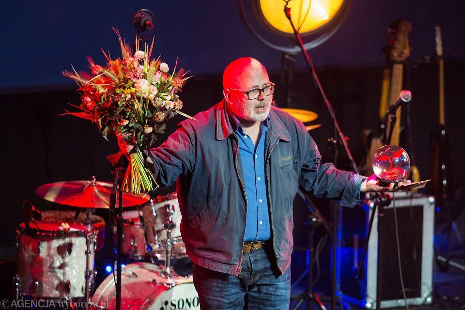 Gala Nagrody Szymborskiej w ICE Kraków. Laureatem został Marcin Sendecki.