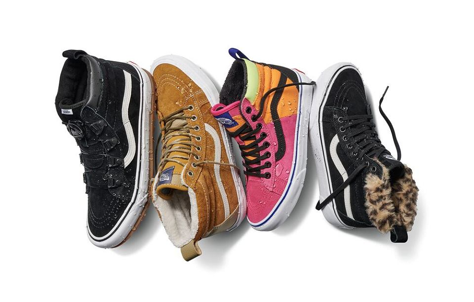 Nowe modele butów Vans