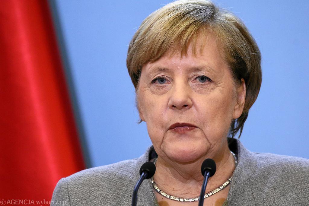 Angela Merkel weźmie udział w obchodach 80. rocznicy wybuchu II wojny światowej