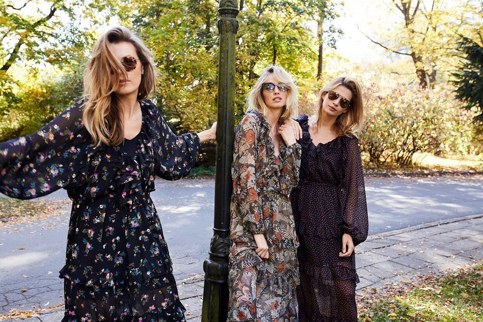 W nowej kolekcji znajdziemy m.in. kwieciste maxi dress