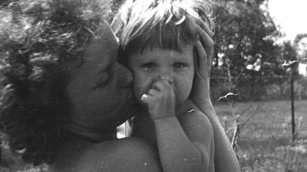 Joanna Szczepkowska z córką Marysią