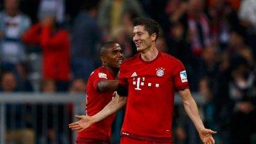 Robert Lewandowski we wtorkowym meczu Bayernu Monachium z VfL Wolfsburg strzelił pięć bramek w dziewięć minut i został sportowym bohaterem dnia