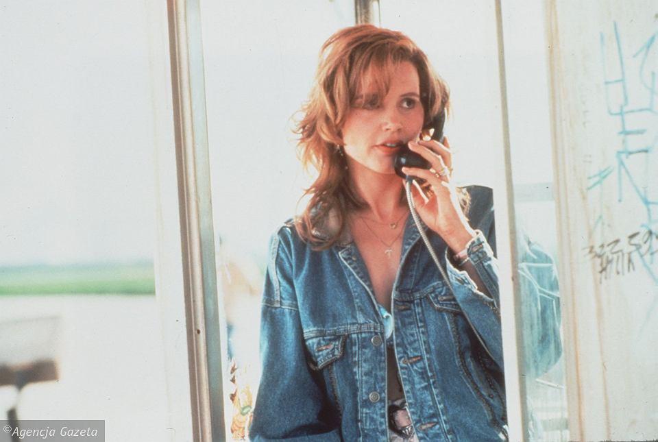 Geena Davis w filmie 'Thelma i Louise', 1991