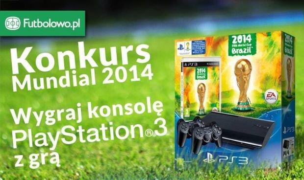 Konkurs! Wygraj Playstation 3 i grę 2014 FIFA World Cup Brazil!