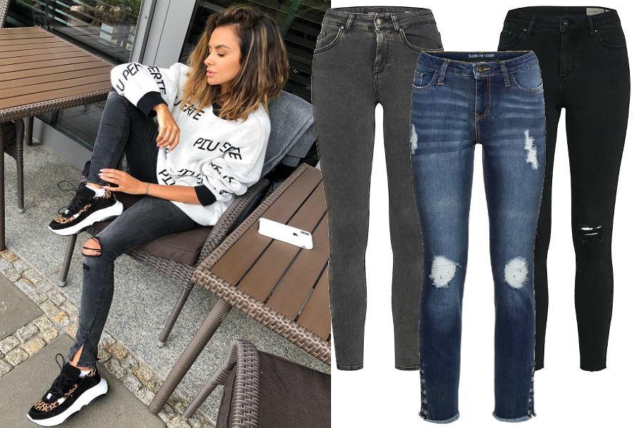Jeansy na jesień - rurki
