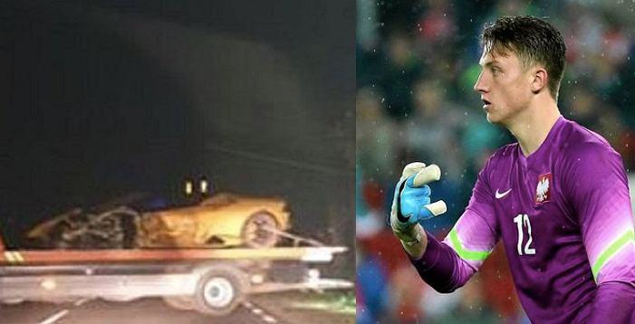 Marcin Bułka, wypadek Lamborghini Huracan (maj 2020 roku)
