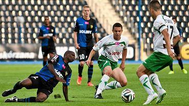 Zawisza - Lechia 0:2. Ariel Borysiuk