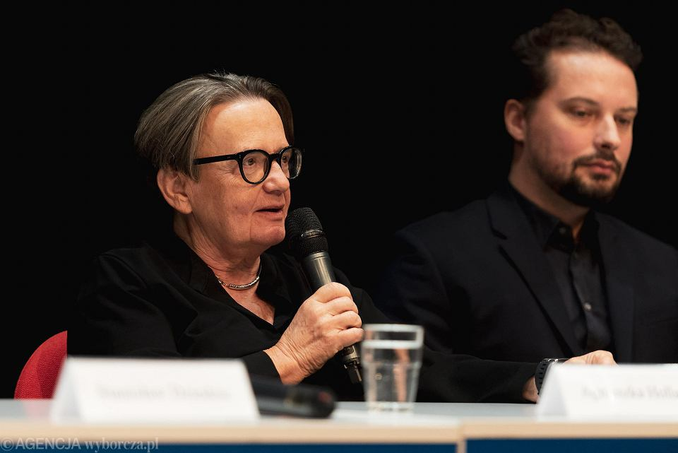 Festiwal Polskich Filmów Fabularnych w Gdyni. Konferencja filmu 'Obywatel Jones'. Agnieszka Holland