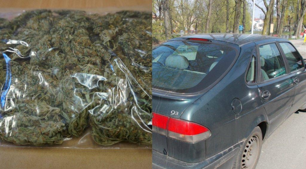 Zapach marihuany zdradził przemytników z Sosnowca