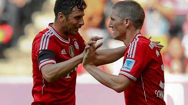 Claudio Pizarro i Bastian Schweinsteiger
