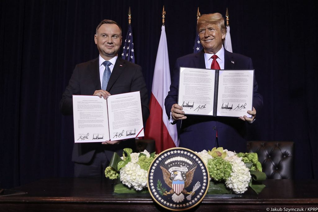 Andrzej Duda w Nowym Jorku spotkał się z Donaldem Trumpem