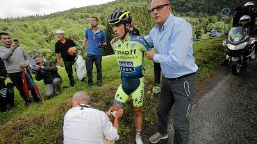 Bjarne Riis i Alberto Contador