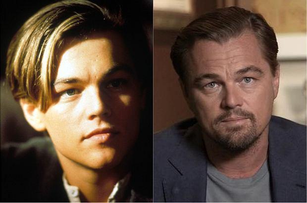 Leonardo DiCaprio jako Jack Dawson.