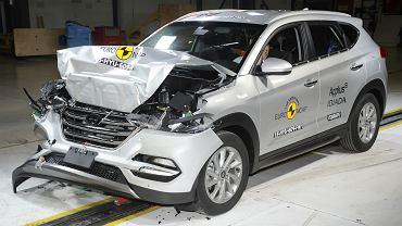 Hyundai Tucson - test zderzeniowy