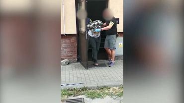 Zatrzymanie 37-latka przez małopolską policję