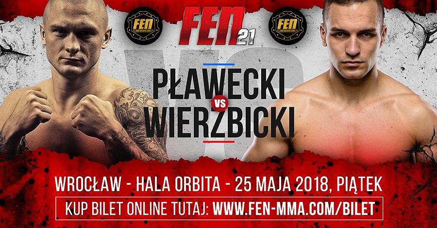 Do pojedynku dojdzie 25 maja we Wrocławiu.