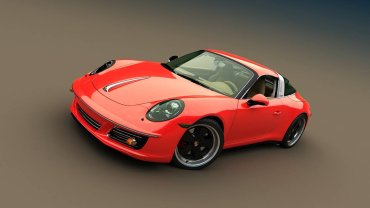 Retro Porsche 911 Bo Zolland