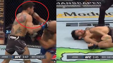 Miles Johns znokautował Andersona dos Santosa