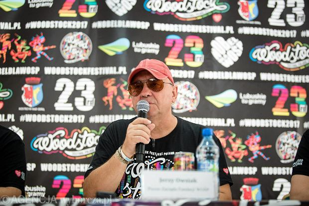 Woodstock 2017. Jurek Owsiak