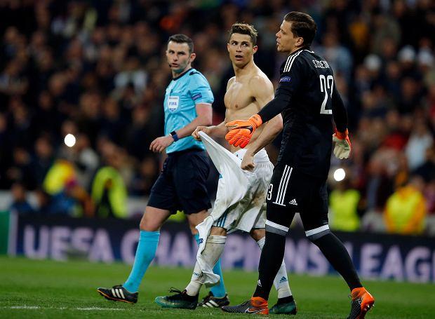 """Szczęsny wskazał najlepszego piłkarza, z jakim grał. """"Nie dawajcie mi Ronaldo"""""""
