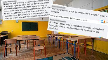 Nauczanie zdalne w szkołach. Co sądzą rodzice?