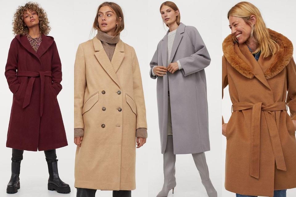 H&M płaszcze na jesień i zimę