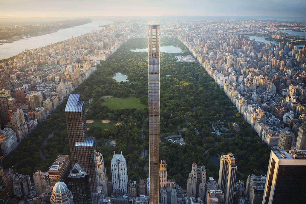 Wizualizacja budynku 111 West 57th Street