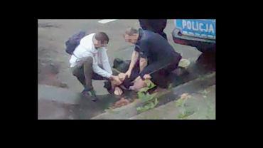 Lubin. Śmierć Bartosza S. po interwencji policji. Nowy film z interwencji