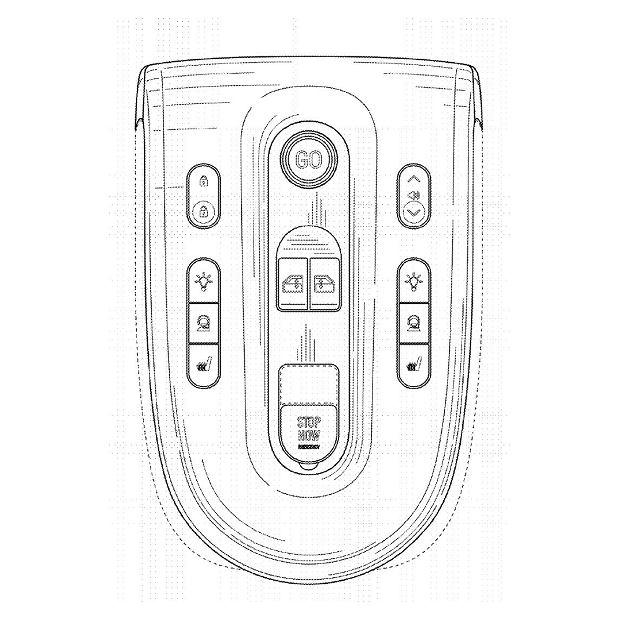 Patent na środkową konsolę Waymo