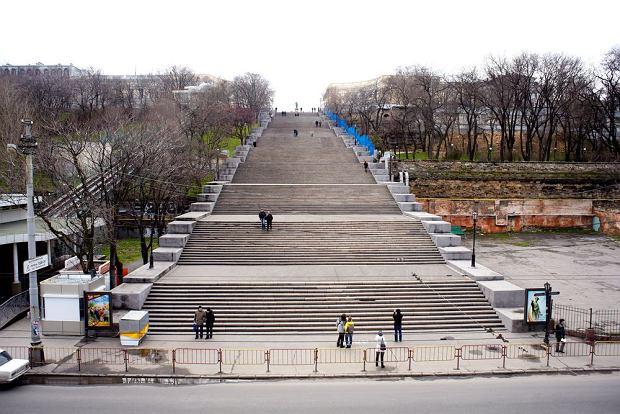 Schody Potiomkinowskie, Odessa, Krym, Ukraina / fot. Shutterstock