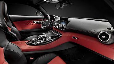Mercedes-Benz GT AMG - wnętrze