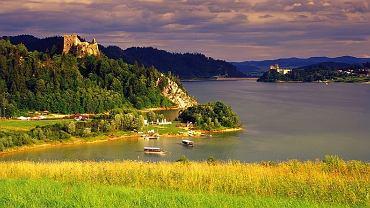 Zamek Czorsztyński i Jezioro Czorsztyńskie / fot. Tomasz Gebus BE&W