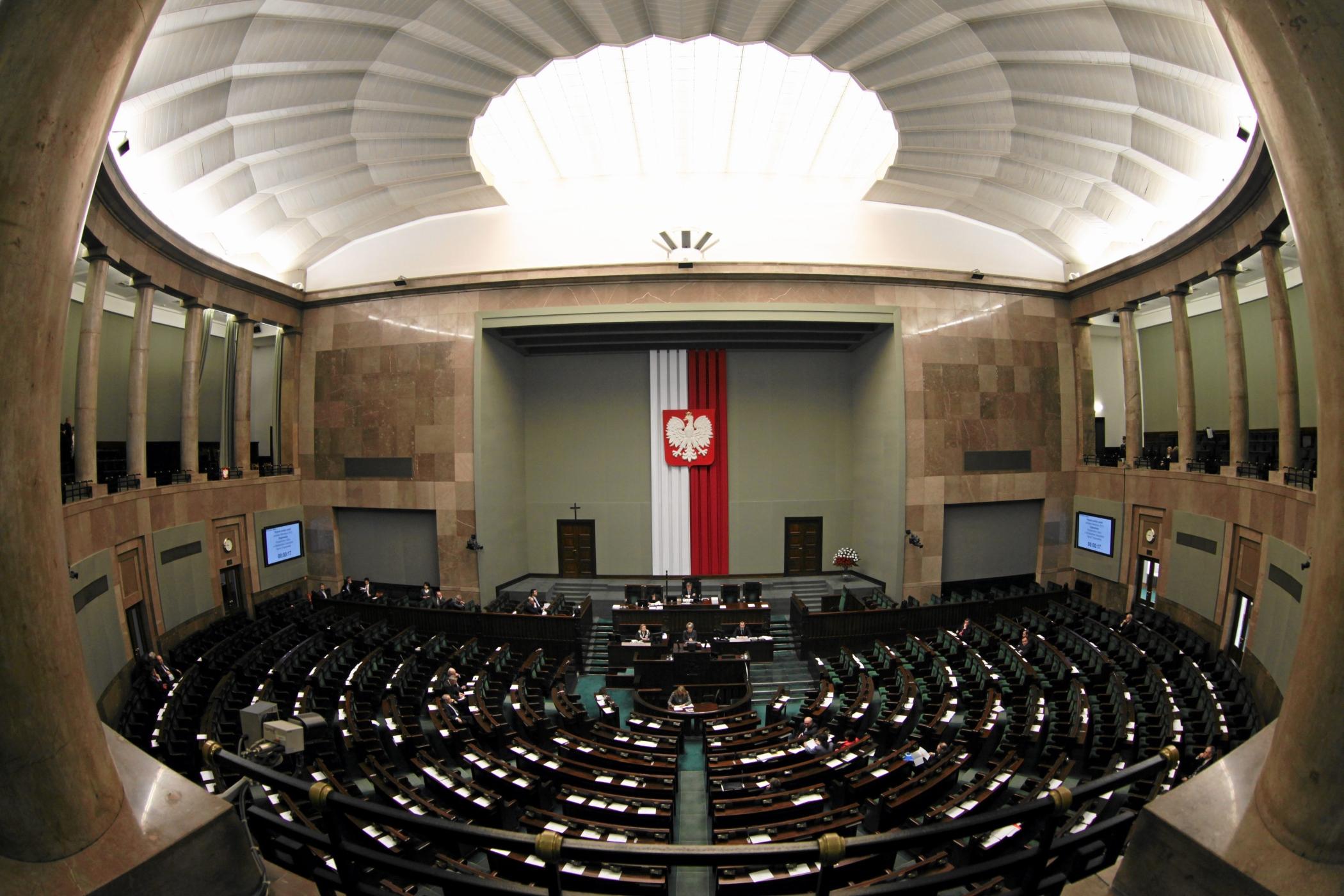 Sejm (fot. Sławomir Kamiński / Agencja Gazeta)