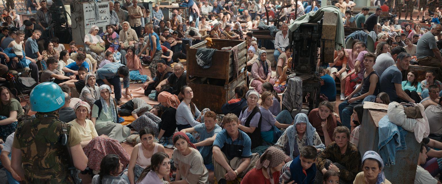 Kadr z filmu 'Aida' (fot. materiały prasowe / Gutek Film)