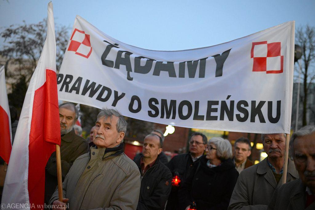 Protest rodzin katastrofy smoleńskiej