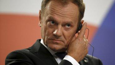Szef RE Donald Tusk podczas unijnego szczytu na Malcie