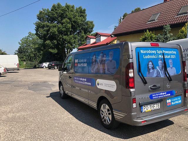 Narodowy Spis Powszechny 2021. 'Spisobus' będzie jeździł po lubuskich gminach