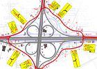 Autostrada A1 - węzeł Piotrków Trybunalski Południe od dziś zamknięty. Na kierowców czeka dziwne rondo