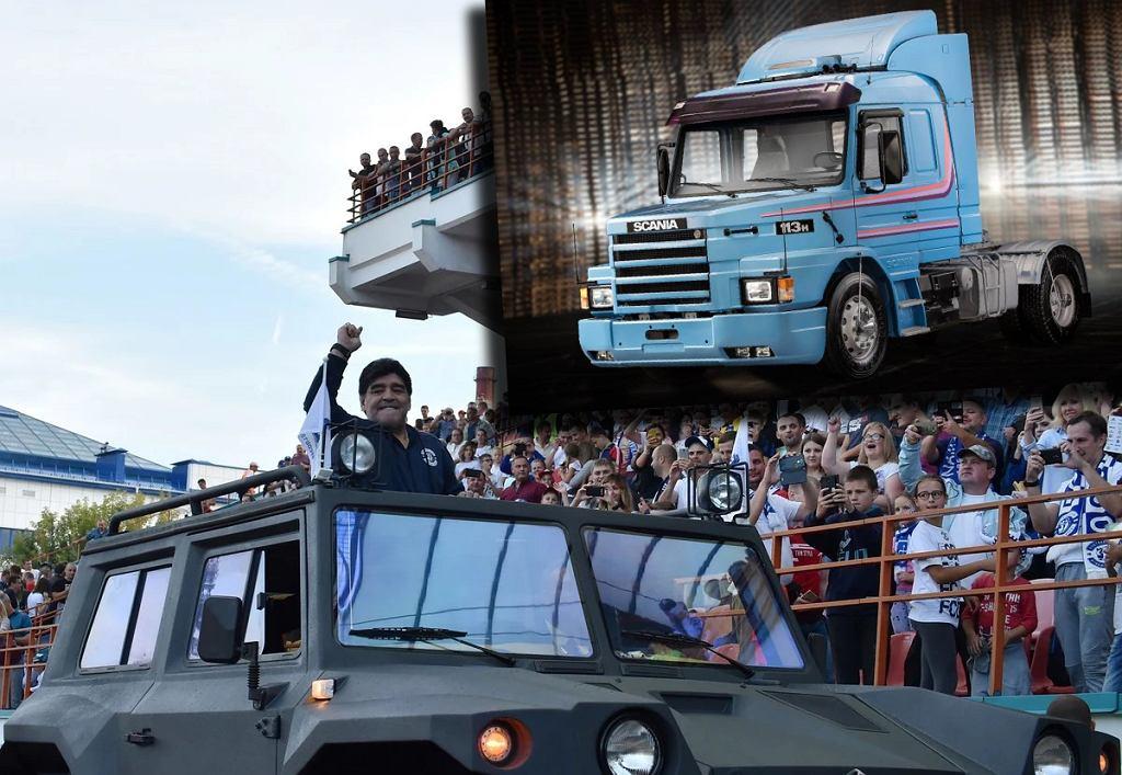 Diego Maradona - samochody piłkarza