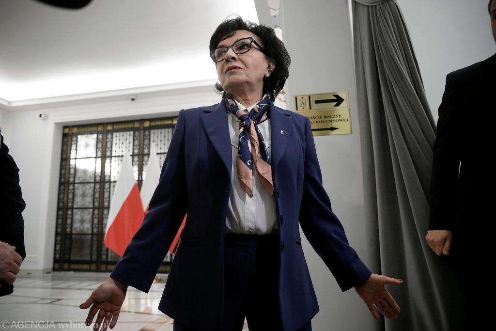 RSpotkanie w Warszawie prezesa NIK Mariana Banasia z marszalek Sejmu Elzbieta Witek