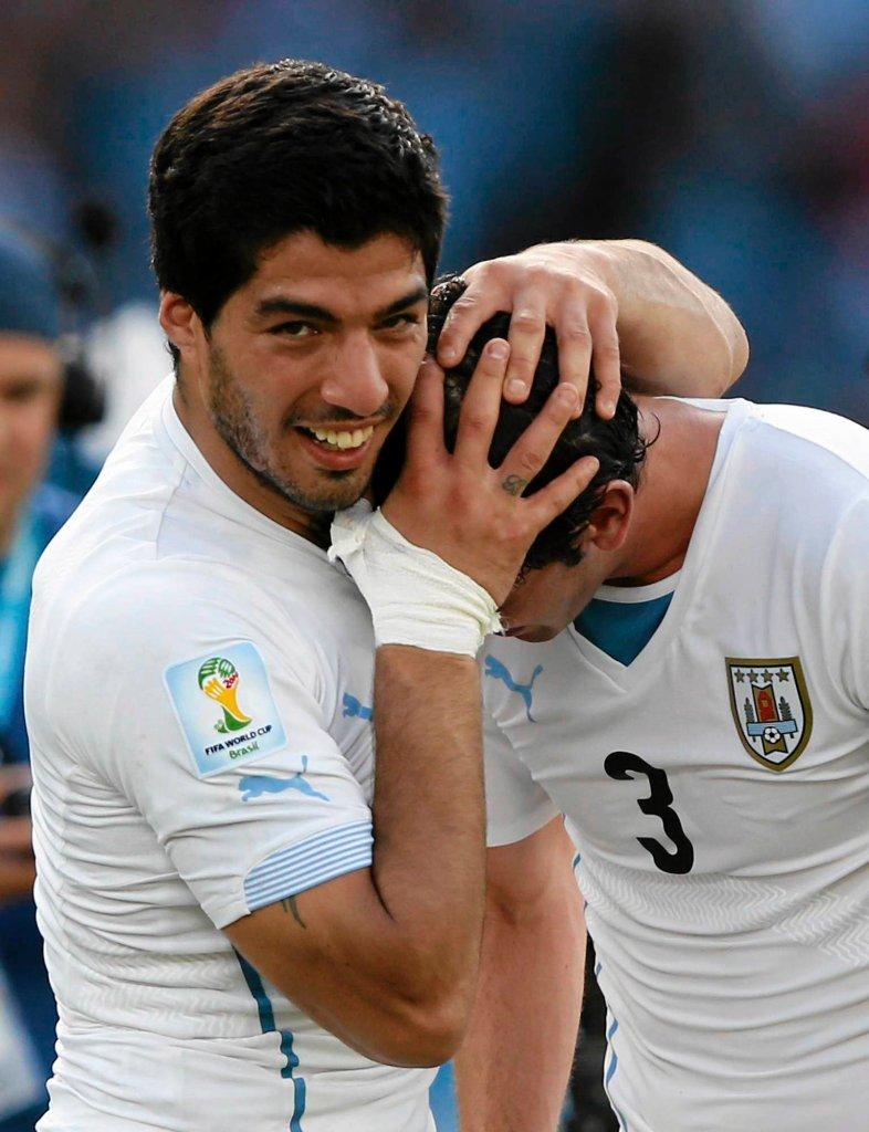 Luis Suarez i Diego Godin