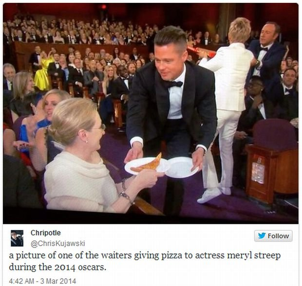 Brad Pitt i Meryl Streep