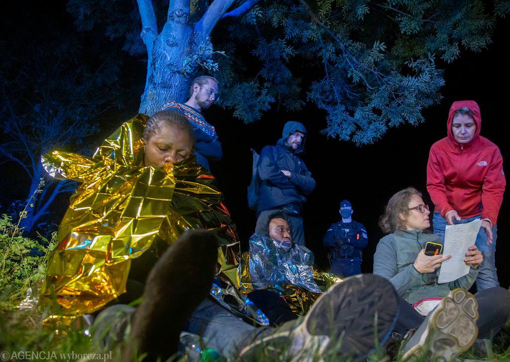 Uchodźcy na granicy