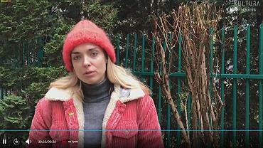 Magdalena Koleśnik odbiera nagrodę FPFF w Gdyni